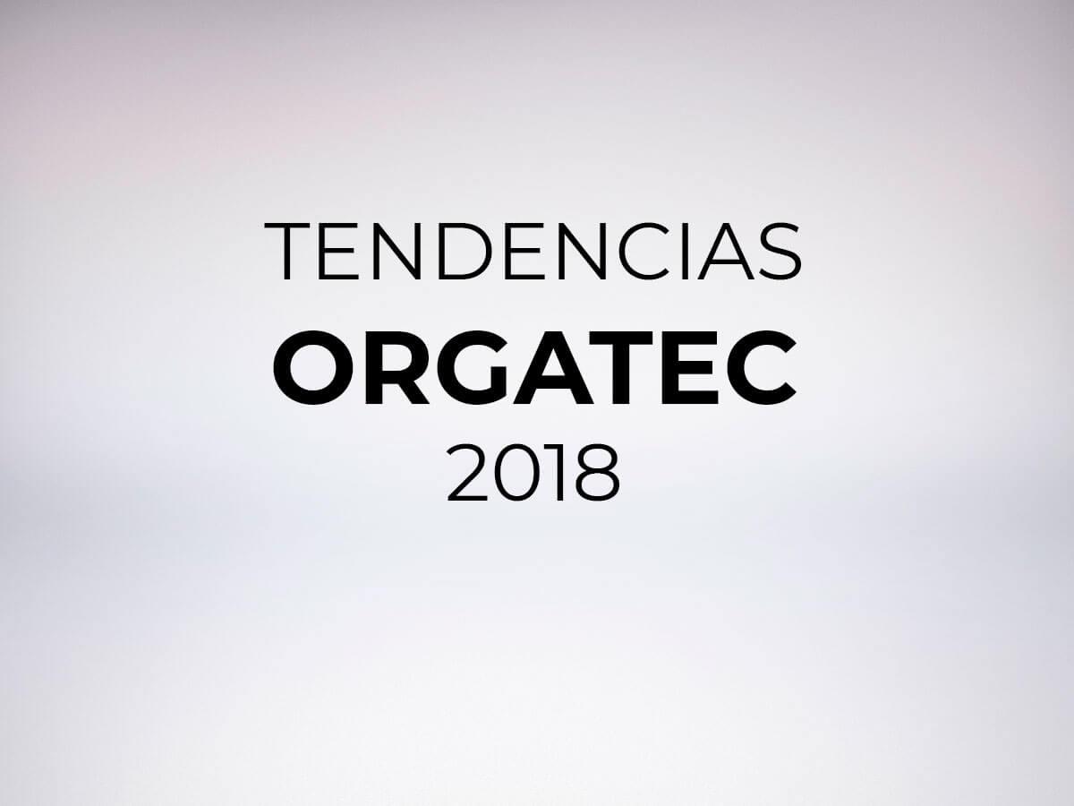 Tendencias orgatec 2018
